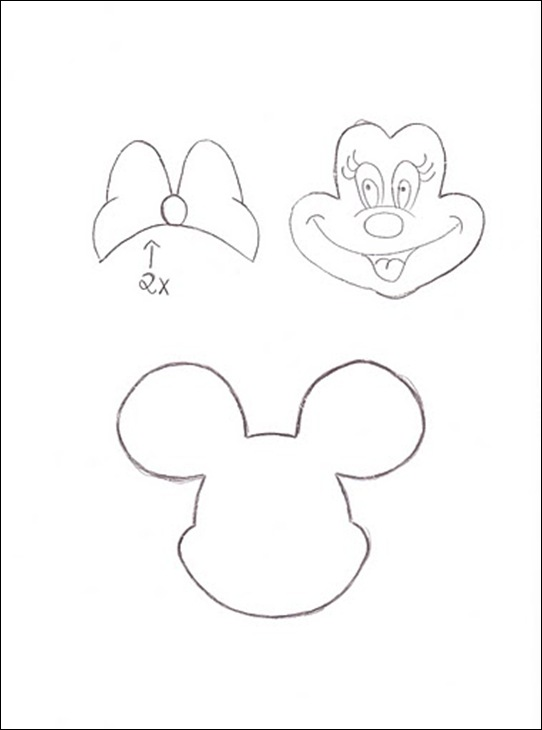 Moldes De Minnie Mouse Para Imprimir Gratis
